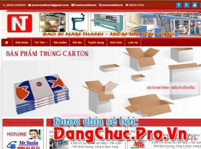 Công ty Bao bì Nam Thanh